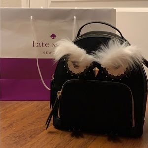 NWT KATE SPADE owl tomi star bright backpack